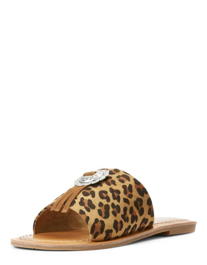 741c21254 Ariat Ladies Unbridled Ellie Leopard Sandal - The Turquoise Saddle