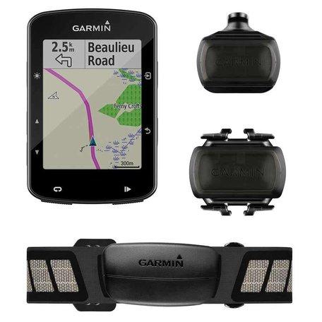Garmin, Edge 520 Plus Bundle, Computer, GPS: Yes, HR: Yes (Chest), Cadence: Yes, Black, 010-02083-01