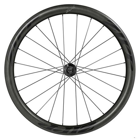 Zipp, 302 Disc Black Decal, Wheel, Rear, 700C / 622, Holes: 24, QR/12mm TA, 135/142mm, Disc Center Lock, Shimano HG 11