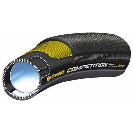Continental Competition Tubular 28 X 25 Black-BW + Black Chili