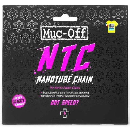 Muc-Off, NTC Nanotube, Chain, 11sp., 114 links, SRAM Red