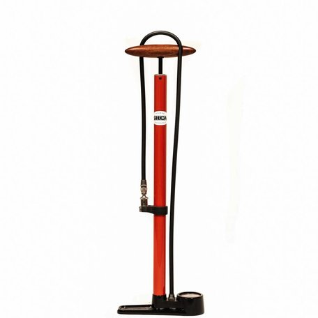 SILCA Pista Floor Pump - RED