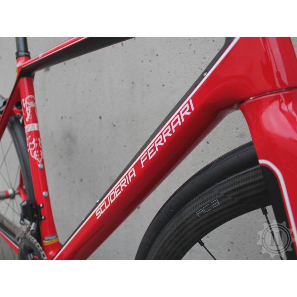 74731d321e5 BIANCHI Scuderia Ferrari SF01 - Red - Size 55 - The 11 Online Inc.