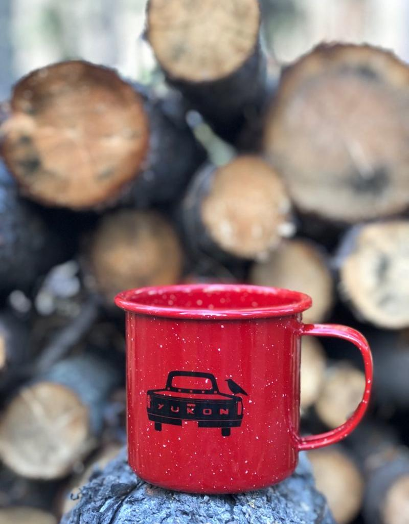 Yukon Truck Enamel Mug