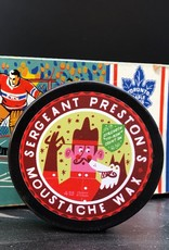 Sergeant Preston's Moustache Wax Hockey Puck
