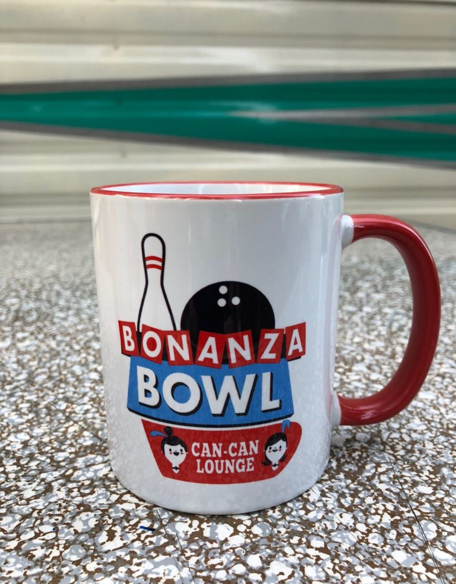 Bonanza Bowl Ceramic Mug