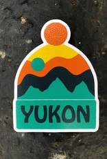 Yukon Toque Magnet-Orange