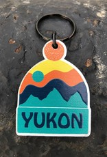Yukon Toque Keychain-Orange