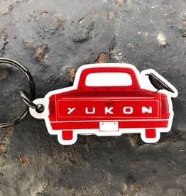 Yukon Truck Keychain