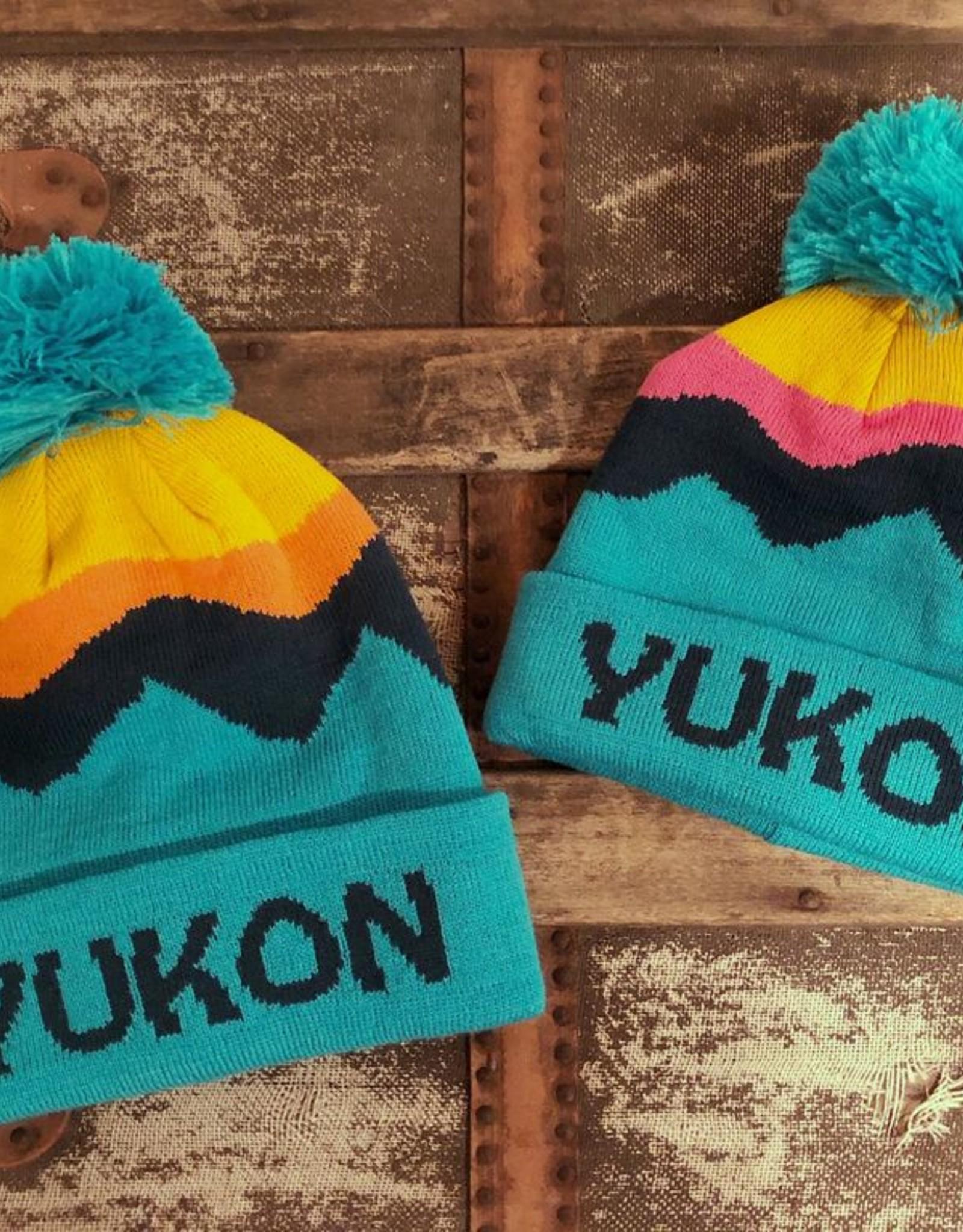 Yukon Kids Toque-Pink