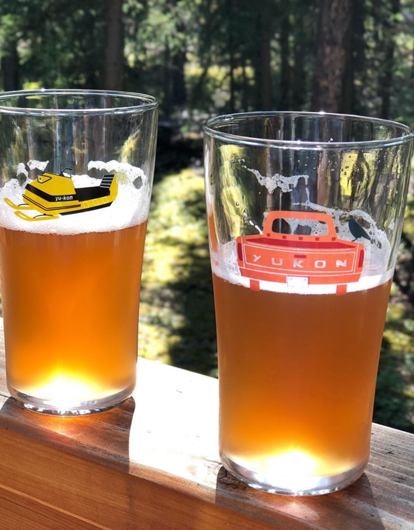 Yukon Truck Beer Glass