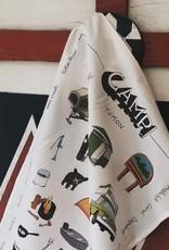 Camp Tea Towel