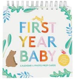 First Year Baby Calendar