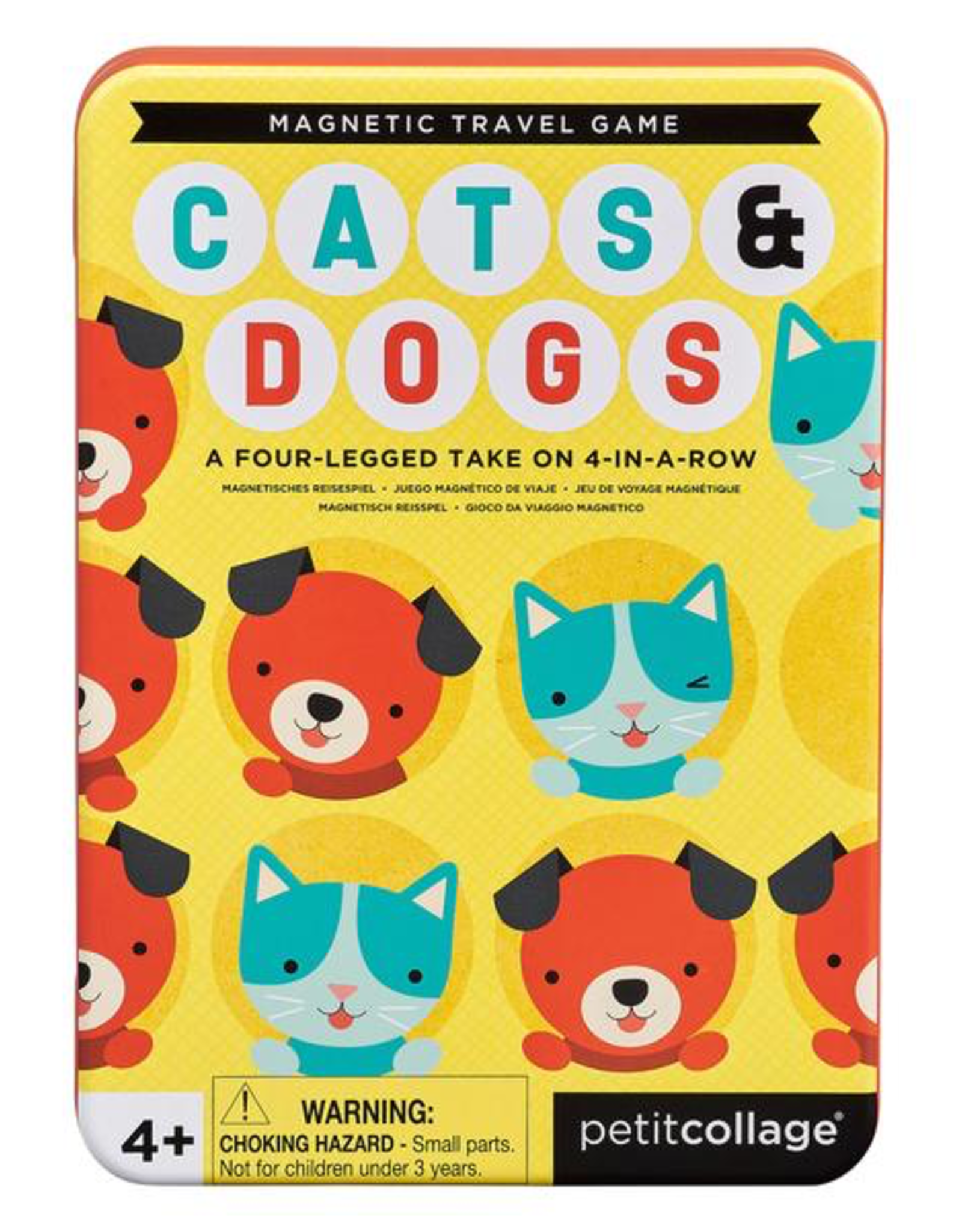 Cats & Dogs Game Tin