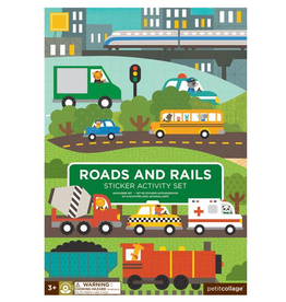 Road And Rails Sticker Activity Set