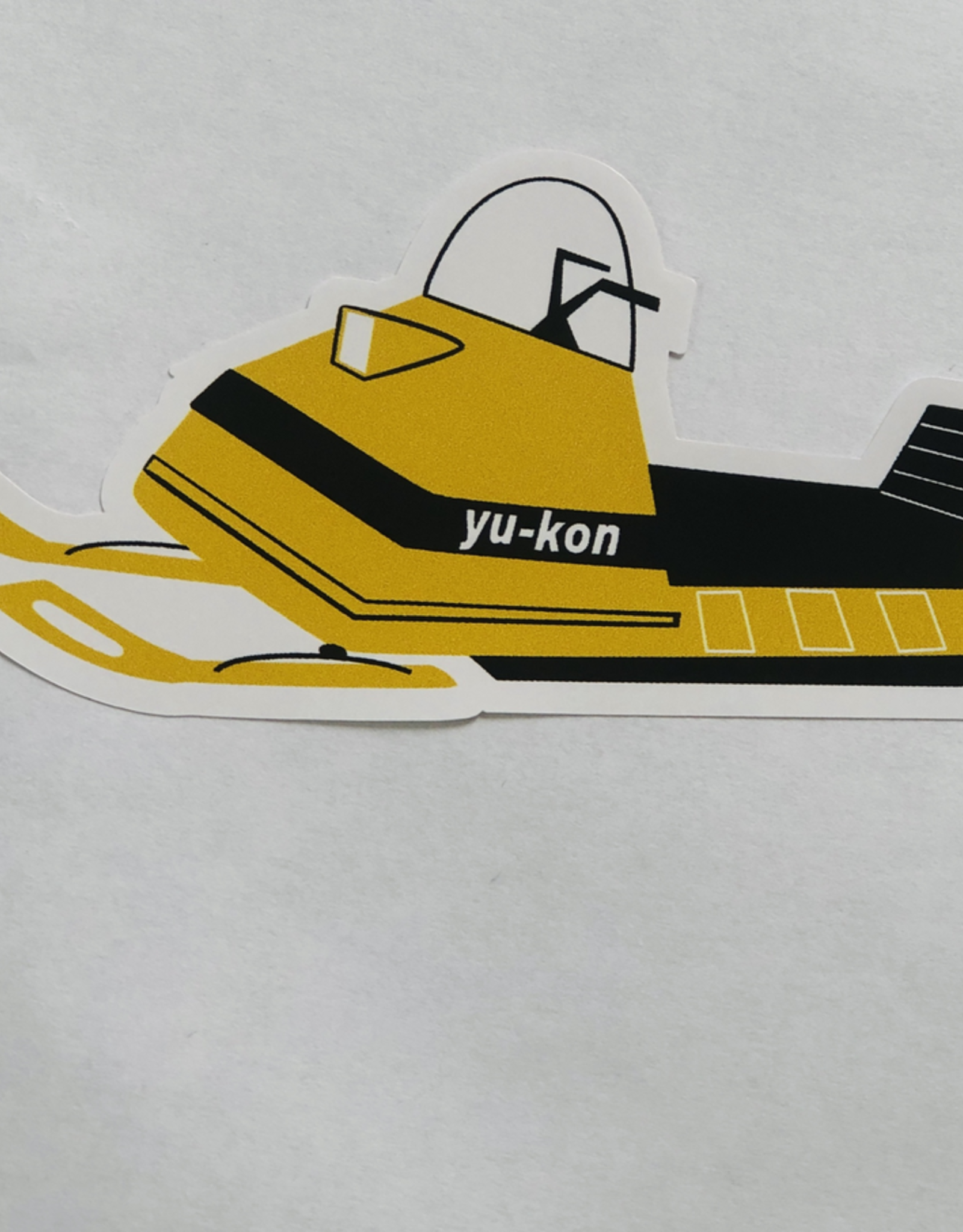 Yukon Snowmobile Sticker