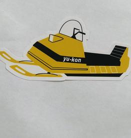 Yukon Snowmobile Sticker
