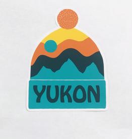 Yukon Toque Sticker