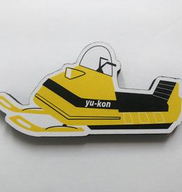 Yukon Snowmobile Magnet