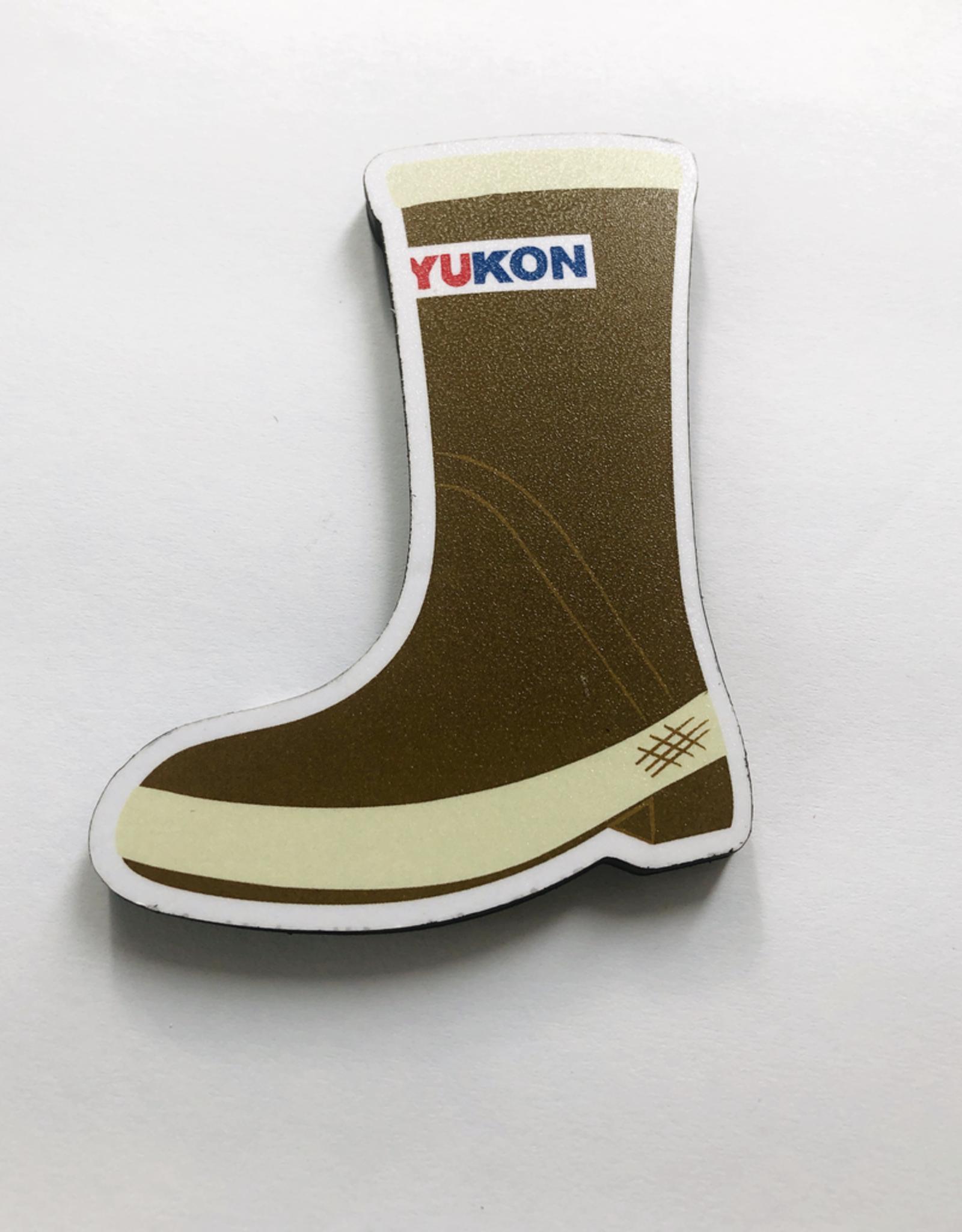 Yukon Boot Magnet