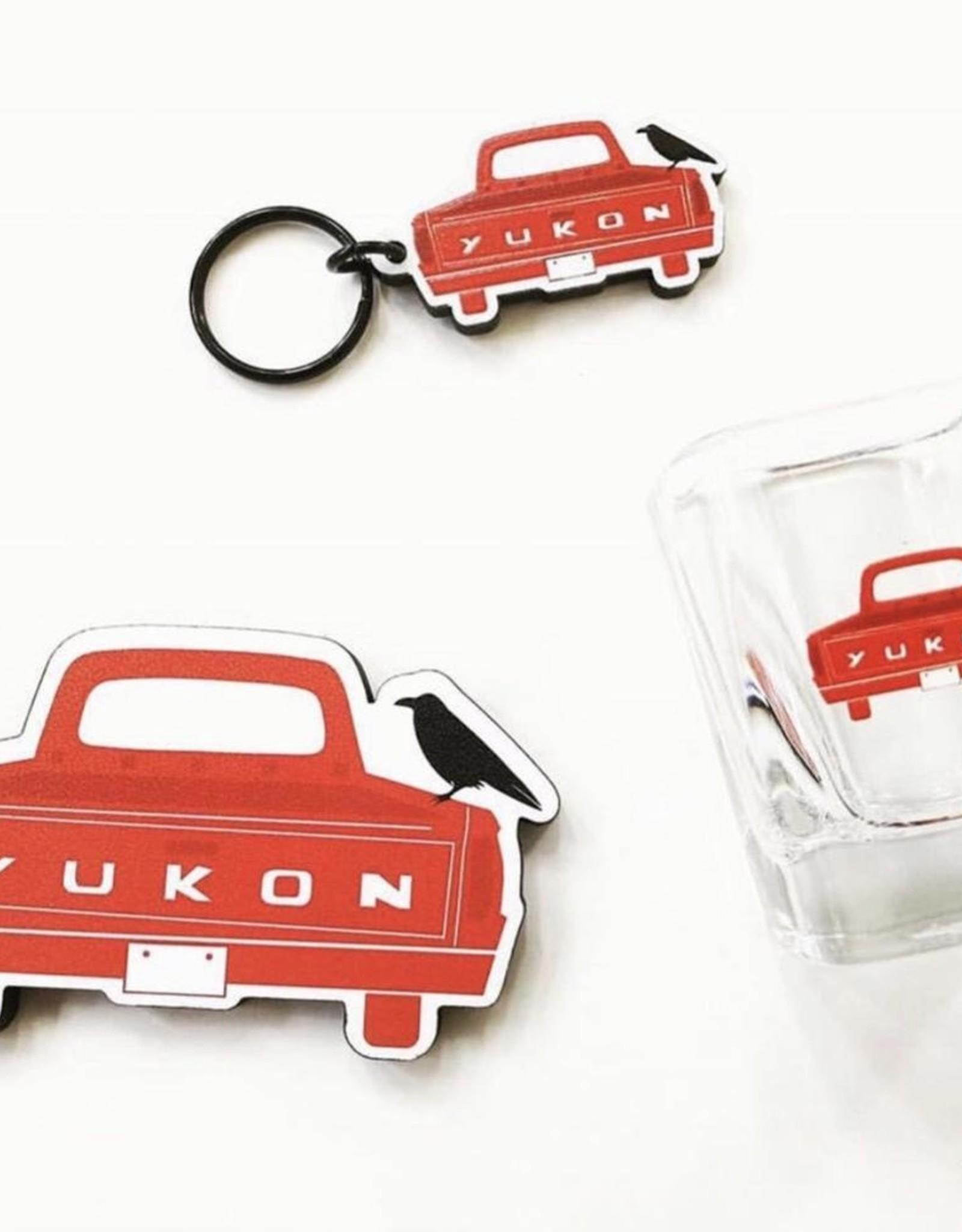 Yukon Truck Shot Glass