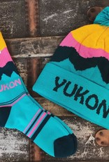 Yukon Toque Socks-Pink