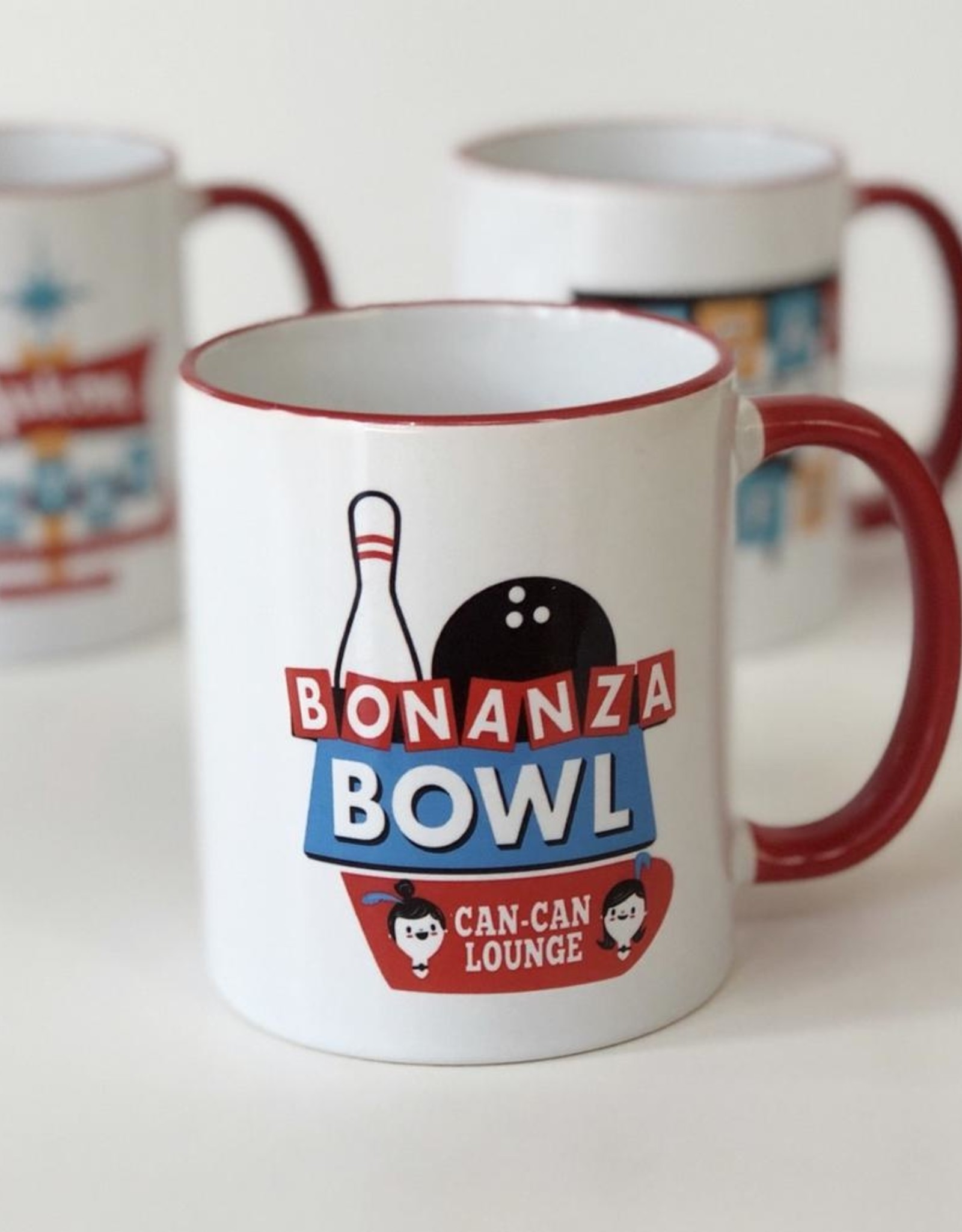 Bonanza Bowl Ceramic Mug