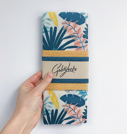 Beeswax Wrap - Tropical Palms Set 3