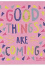 Good Things Coming Swedish Dishcloth