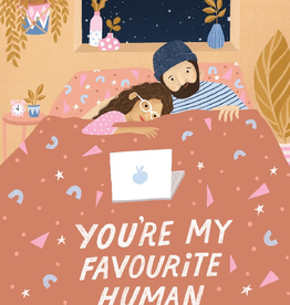 Couple In Bed Card