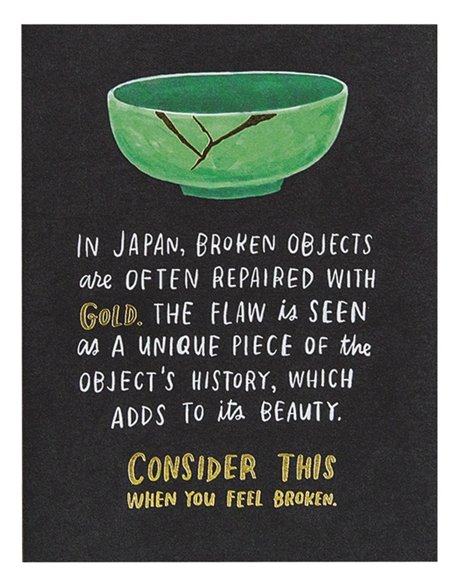 Broken Objects Card