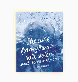 Salt Water Sympathy Card