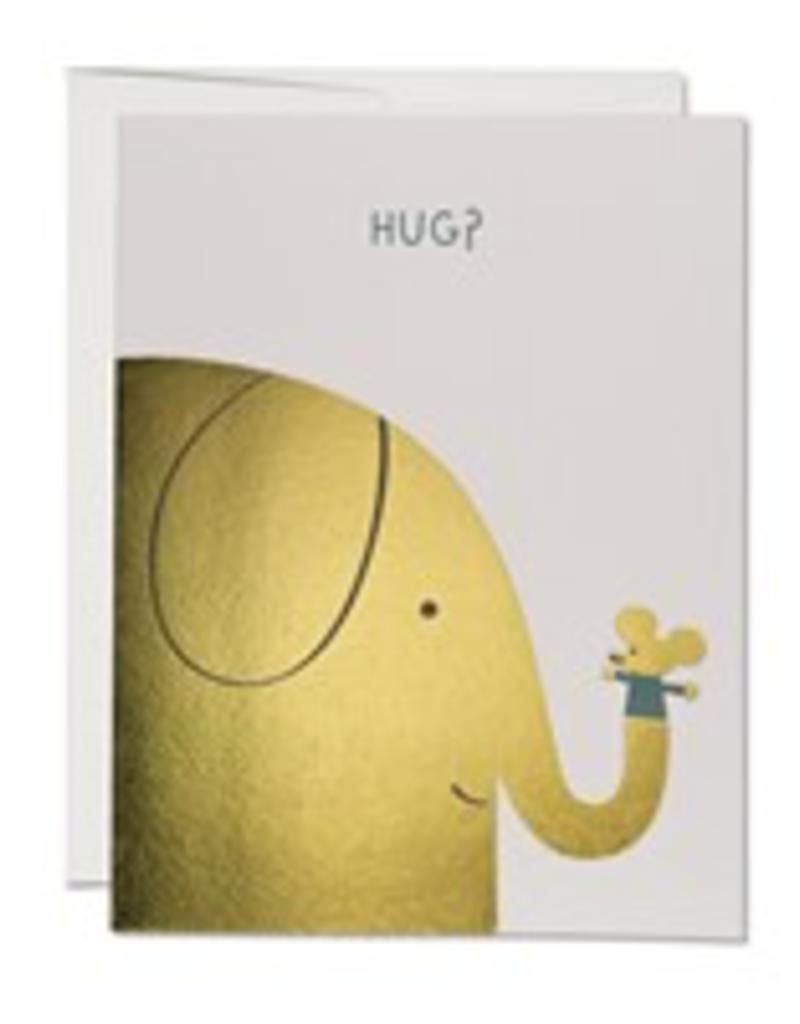 Elephant Hugs Encouragement Card