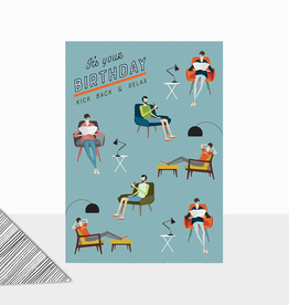 Birthday Relax Card