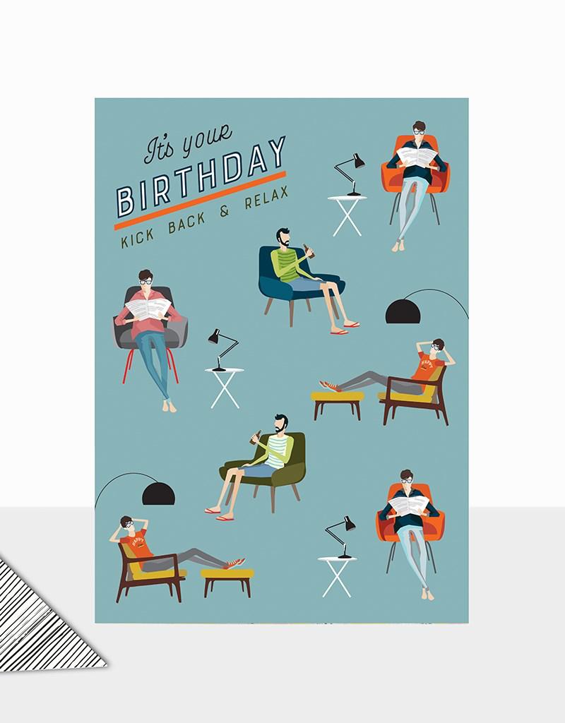 Birthday Relax Card