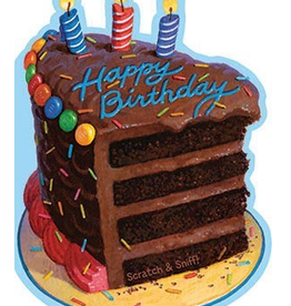 Chocolate Birthday Cake Card