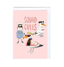 Squad Gulls Card