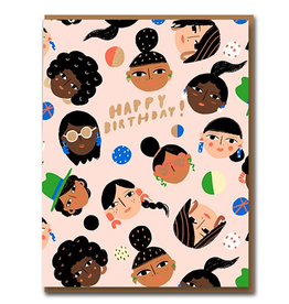 Cest Chic Faces Card