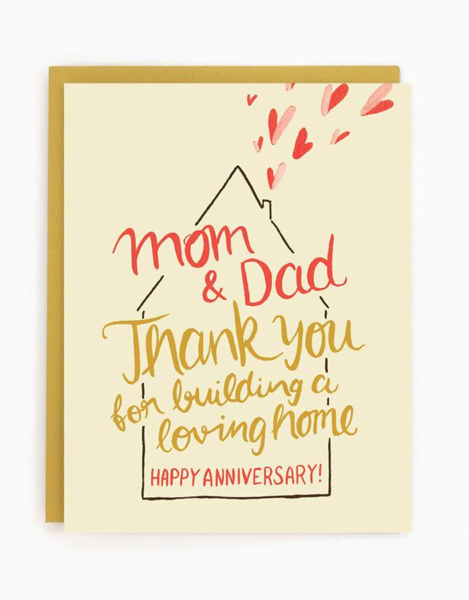 Parents Anniversary Card