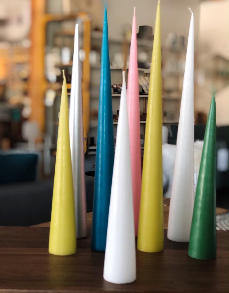Cone Candle-Medium-Green
