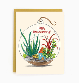 New Home Terrarium Card