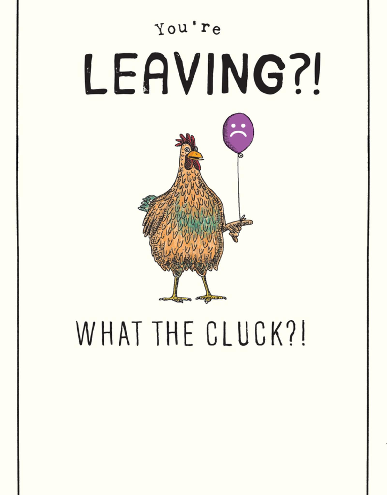 Leaving Card