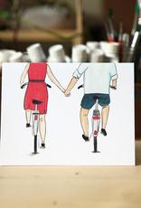 Bikes Love Card