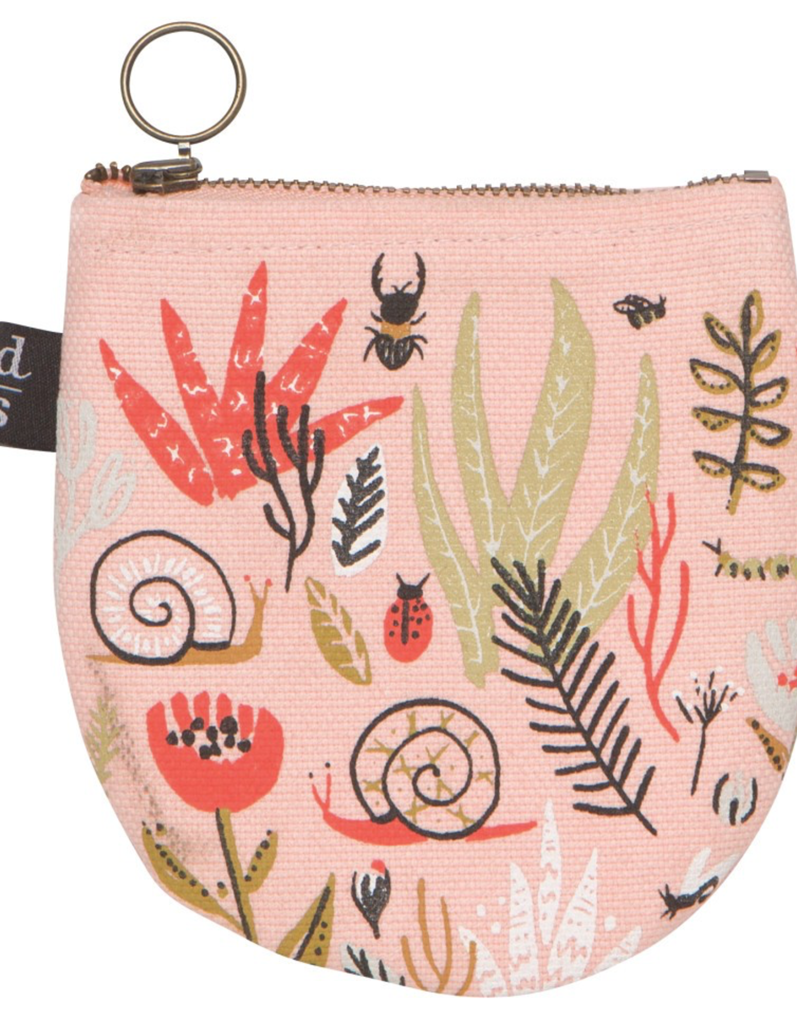Small World Half Moon Pouch