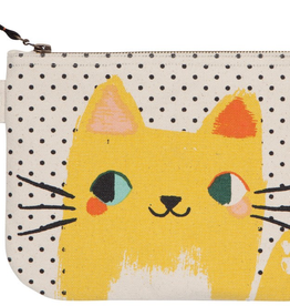 Meow Meow Zip Pouch
