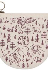 Stay Wild Halfmoon Pouch