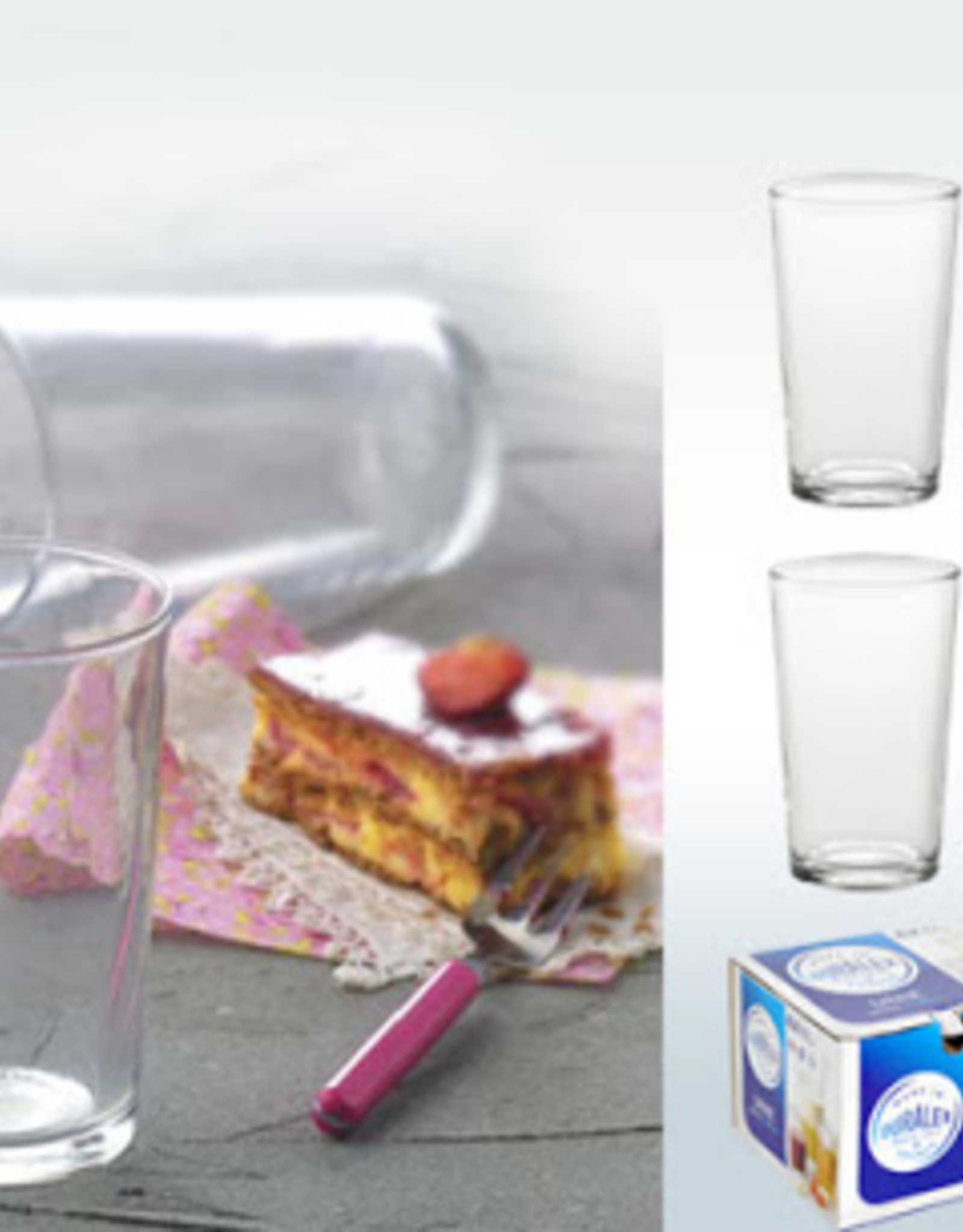 Duralex Unie Clear Glass Tumbler-200ml-Set 6