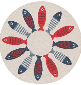 Braided Little Fish Placemat