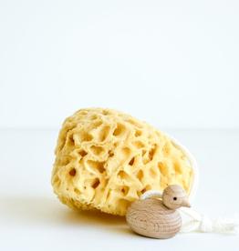 Bath Sponge With Duck
