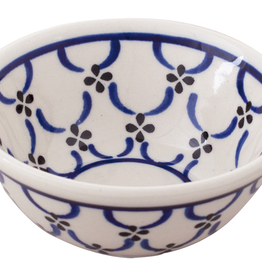 Ceramic Shaving Soap Bowl-Light Pattern